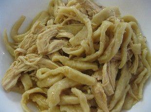 Mom's Chicken & Noodles Recipe (crock pot)