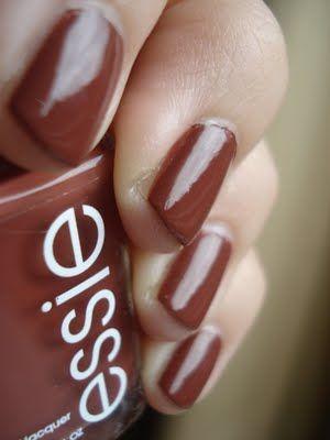Essie - very structured.