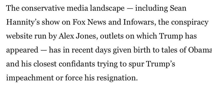 It really is time that Sean Hannity was given co-equal status with Infowars. https://www.washingtonpost.com/politics/trump-accuses-obama-of-nixonwatergate-wiretap--but-offers-no-evidence/2017/03/04/1ddc35e6-0114-11e7-8ebe-6e0dbe4f2bca_story.html?hpid=hp_hp-top-table-main_trumpwiretap-8pm%3Ahomepage%2Fstory&utm_term=.1a827ef533c0 …