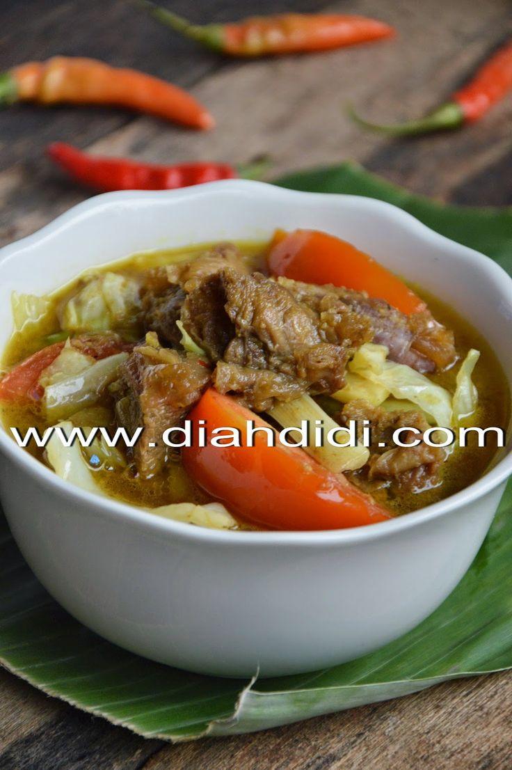 Diah Didi's Kitchen: Tongseng & Sate Kambing Dalam Sekali Masak & Satu Bumbu..^^