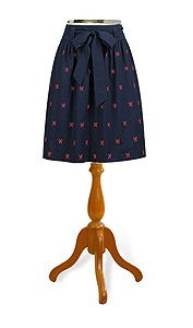 Bows and Whistles Skirt from eShakti