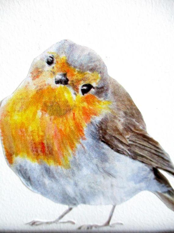 robin wall decals, robin decor, christmas gift, bird lover, festive