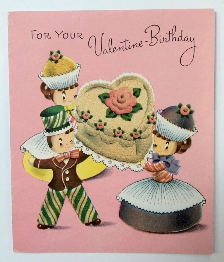 Pin by Zona Vogel on Vintage Birthday Cards | Pinterest ...