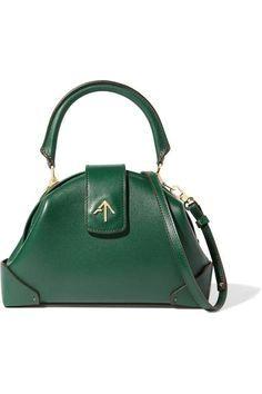 2d60471ec62 Emerald  leather (Cal leather  handbags tote