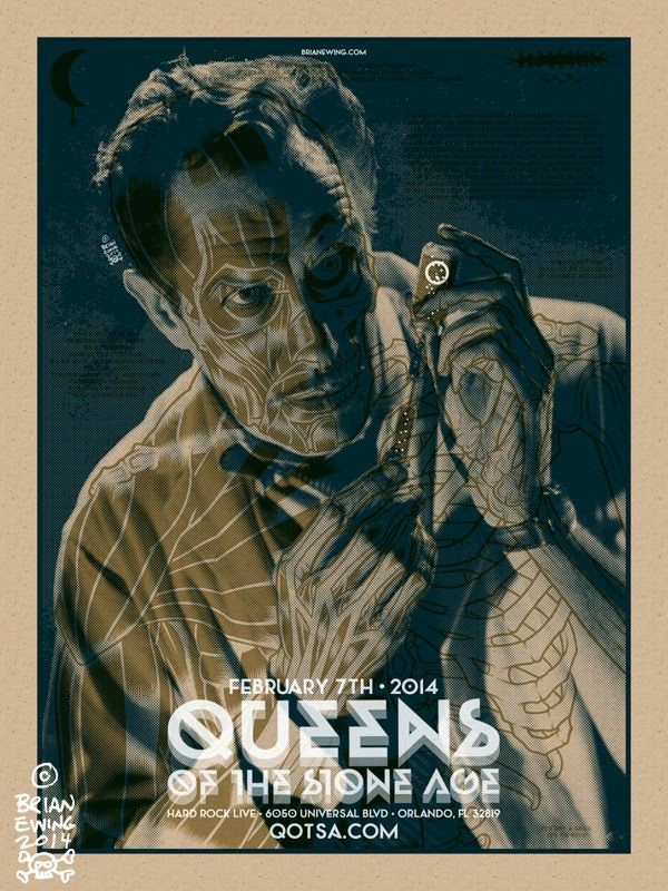 brian-ewing-queens-of-the-stone-age-orlando-poster