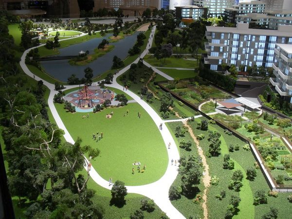 1:100 Landscaping. Architectural Model by Modelcraft (NSW) Pty Ltd
