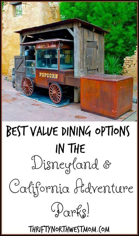 Bestes Preis-Leistungs-Verhältnis: Disneyland (die Restaurants im Park, in denen man essen kann)!