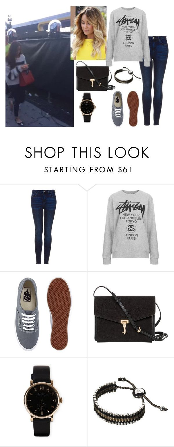 """Concierto de One Direction con Sophia (Novia de Niall)"" by danielama ❤ liked on Polyvore featuring Topshop, Stussy, Vans, Burberry, Marc by Marc Jacobs and Links of London"