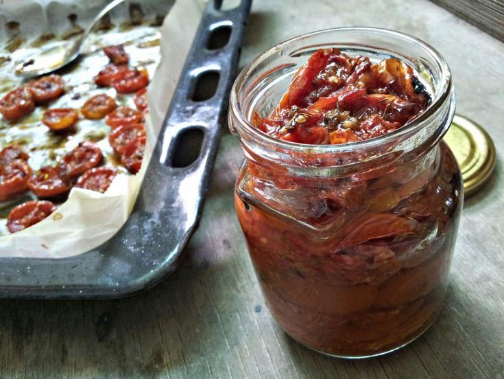 Pečená cherry rajčata