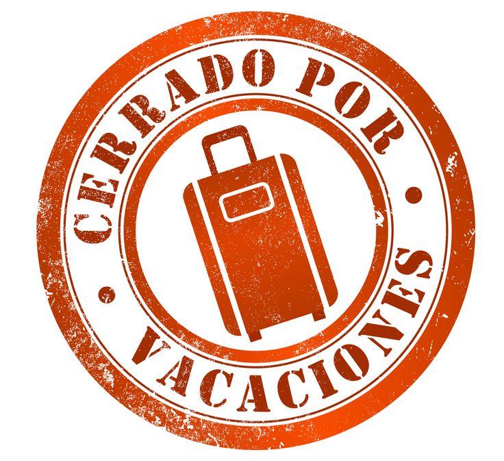 Con los niños en la mochila: Cerrado por vacaciones