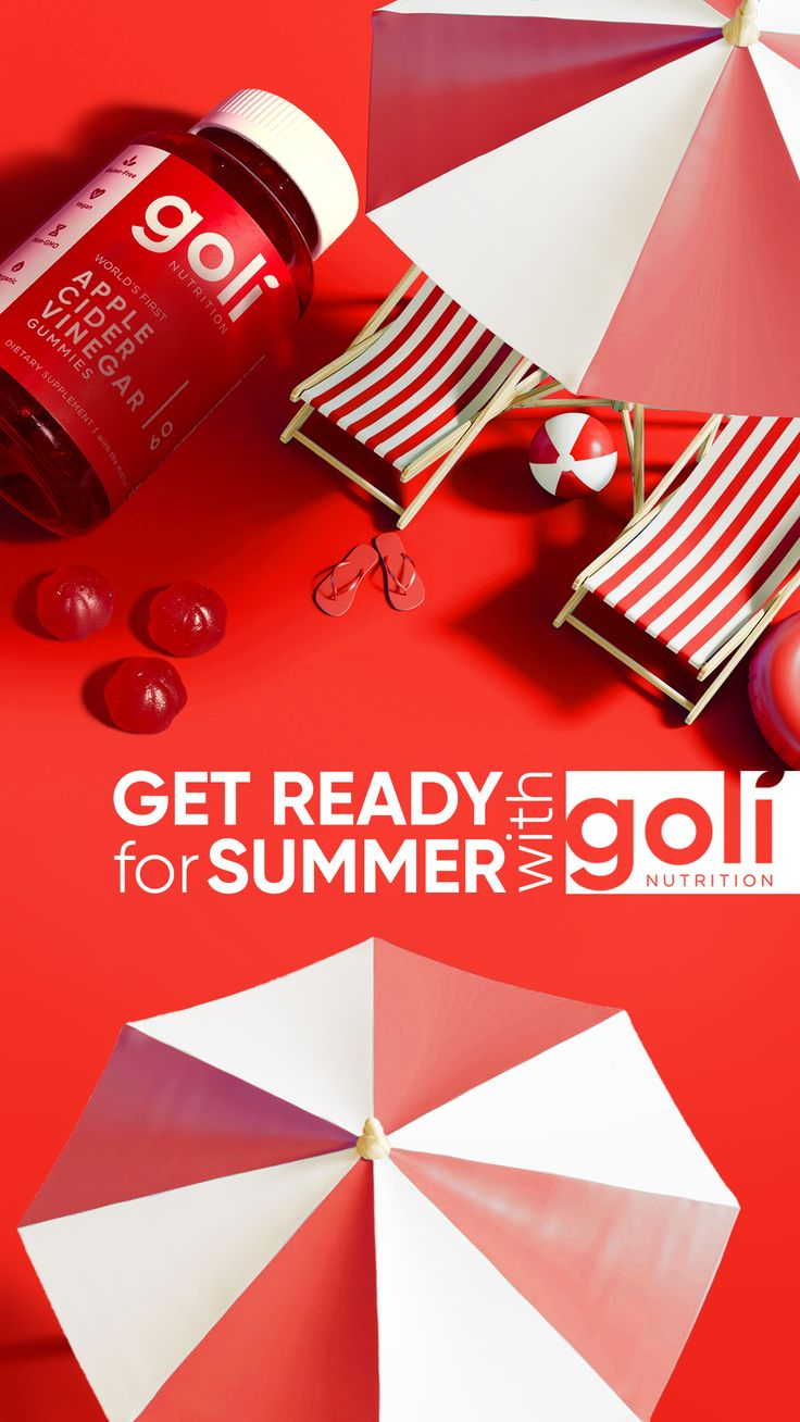 Get ready for summer with goli in 2020 apple cider