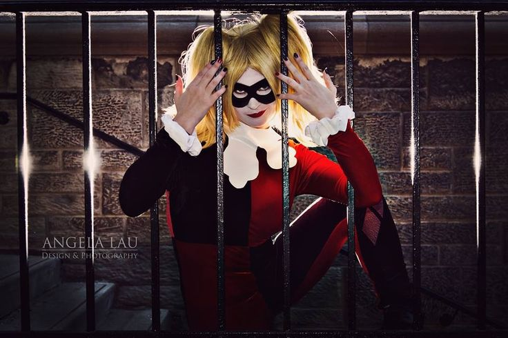 Manda Cowled as Harley Quinn in #TheGeekettes first photoshoot by Angela Lau Design and photography.