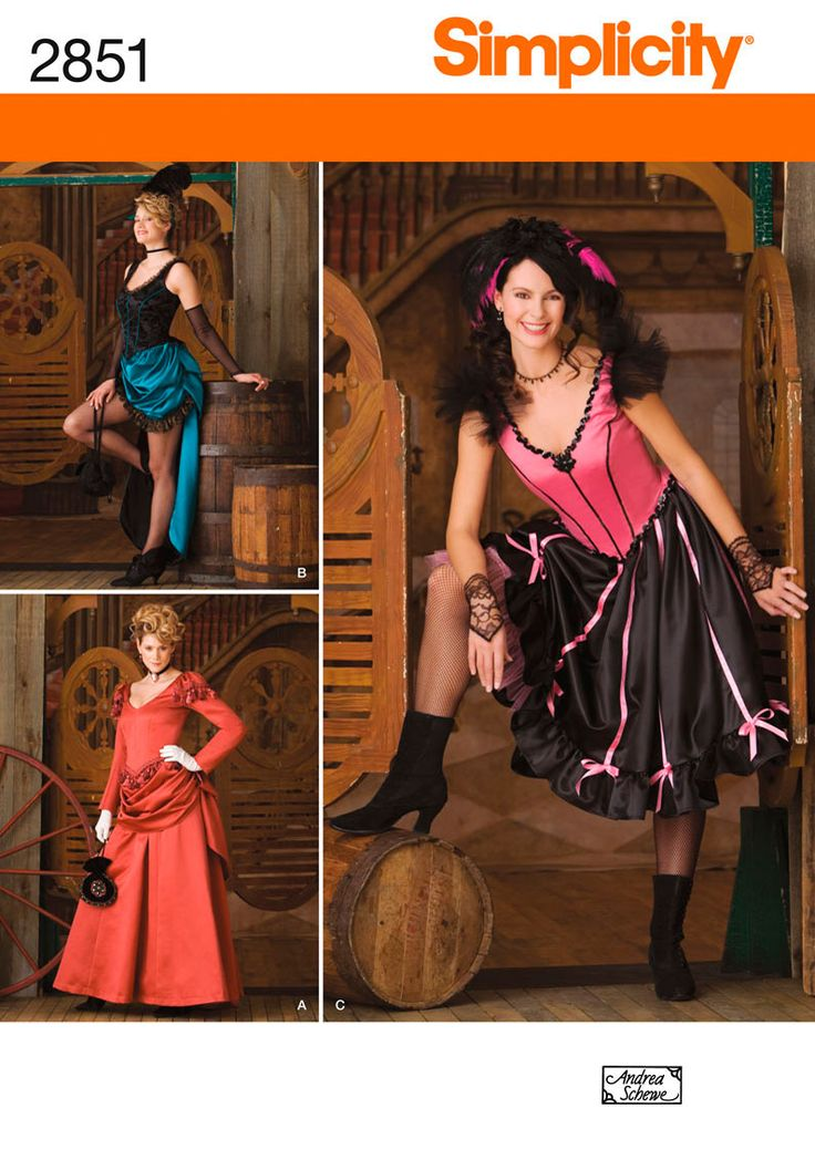 The one in the upper left would make an awesome can-can dancer costume....or be really pretty over a full-length skirt.