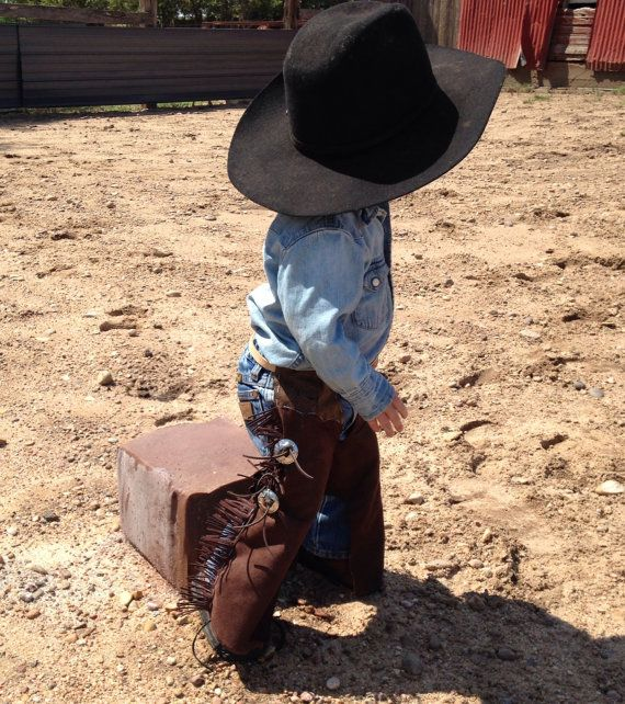 toddler chaps cowboy costume cowgirl costume by lilwesternworks