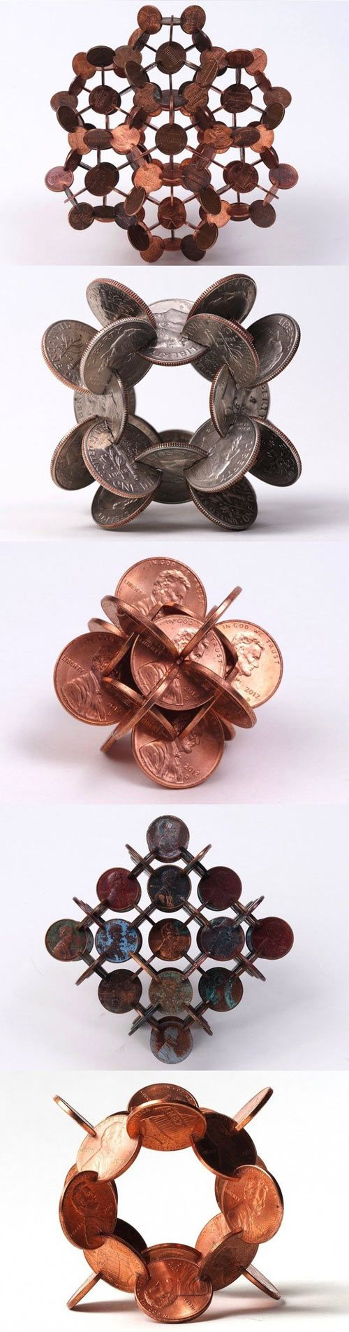 cool-coins-shaped-art-penny
