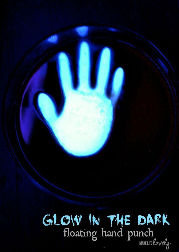 Glow in the Dark Punch for Halloween: Haunted Halloween, Halloween ...