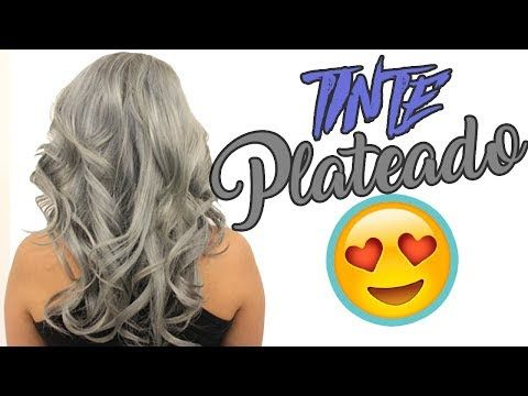 Como Hacer Un Tinte Gris Plata Casero Youtube Tinte Gris Plata Como Tenir El Cabello Matizador De Cabello