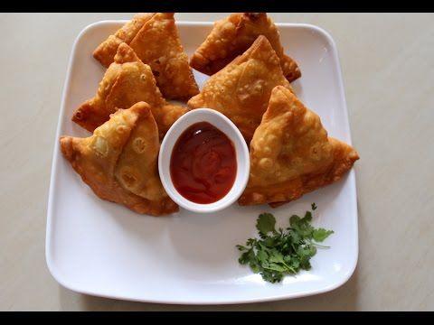 Samosa Recipe Punjabi, Aloo Samosa Recipe - Yummy Indian Kitchen