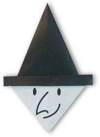 Origami Witch(face)