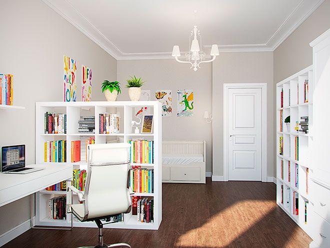 Детская - Интерьер трехкомнатной квартиры в стиле Лофт для пары с ребенком, 100 кв.м.