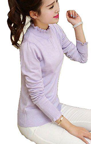 【ボーダー オフショル】モカベリー (MocaBelly) シンプル 薄手 Uネック ロング Tシャツ インナー トップス として 大きい サイズ レディース - http://ladysfashion.click/items/117052