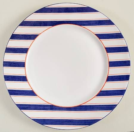 Anchor Here Dinner Plate by 222 Fifth @ Replacements