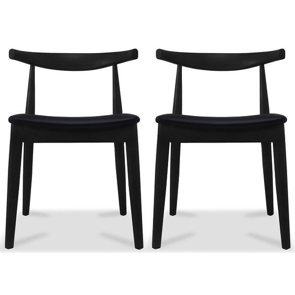 Overstock Com Online Shopping Bedding Furniture Electronics Jewelry Clothing More Contemporary Dining Chairs Black Leather Dining Chairs Leather Kitchen Chairs