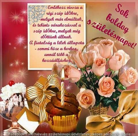 név és születésnapi üdvözletek képes idézetek Pin by Éva Kiss Lászlóné on Születésnap, névnap, évforduló