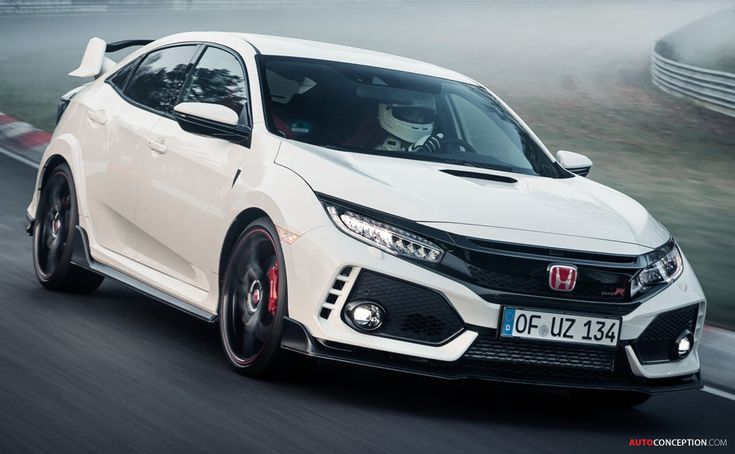 2017 Honda Civic Type R Sets New Nurburgring Lap Record for Front-Wheel Drive Cars