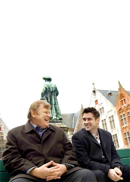 Brendan Gleeson & Colin Farrell, In Bruges. Great film.