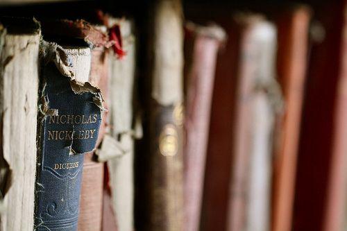 I <3 old books.