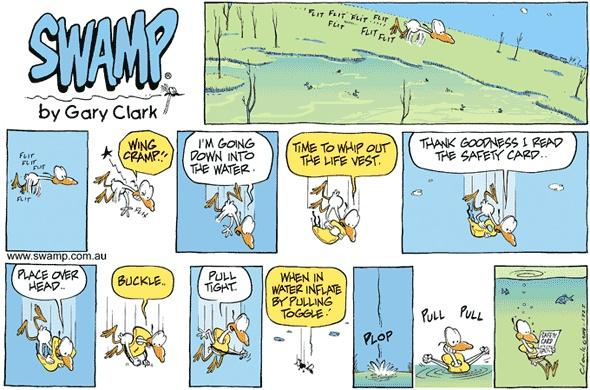 Life jacket instructions. #lifejacket #cartoons #nitpickerbird