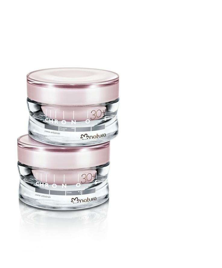 Último día para encargar las cremas antiseñales 30+ de Natura Chronos con un 20% de descuento!