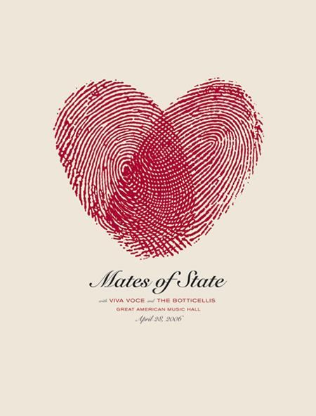 Mates of State Top 40 Concert Posters of all times