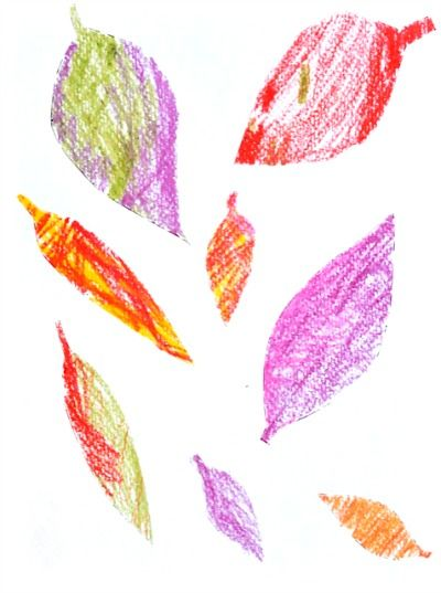Fall Art Projects: 2 Leaf Art Projects For Young Kids