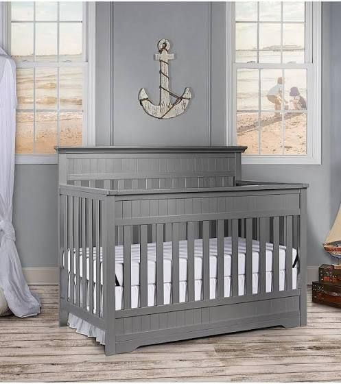 Dream On Me Chesapeake 5 In 1 Convertible Crib Storm Grey Google Shopping In 2020 Baby Cribs Convertible Convertible Crib Convertible Crib White