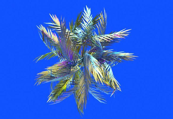 Jonathan Zawada, designer, saturates and blurs his imagery.