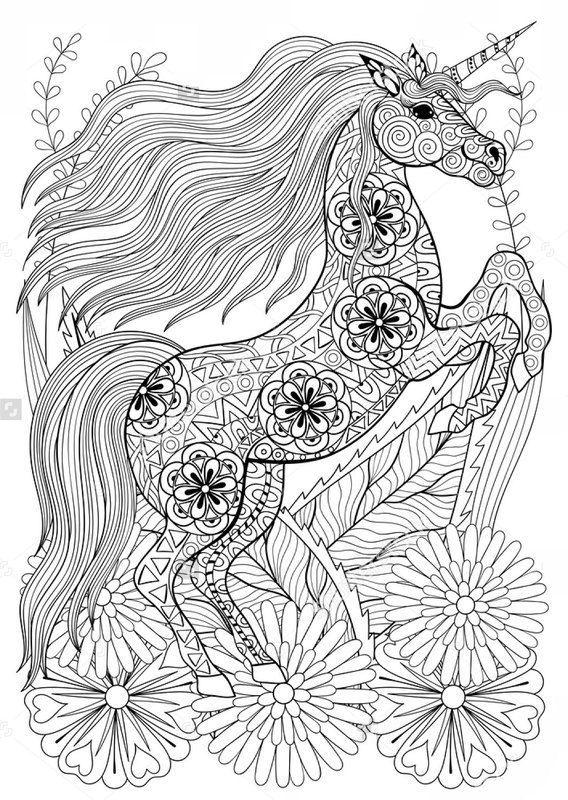 Einhorn Coloring Books Books Coloring Einhorn Malvorlage Einhorn Malvorlagen Pferde Ausmalbilder