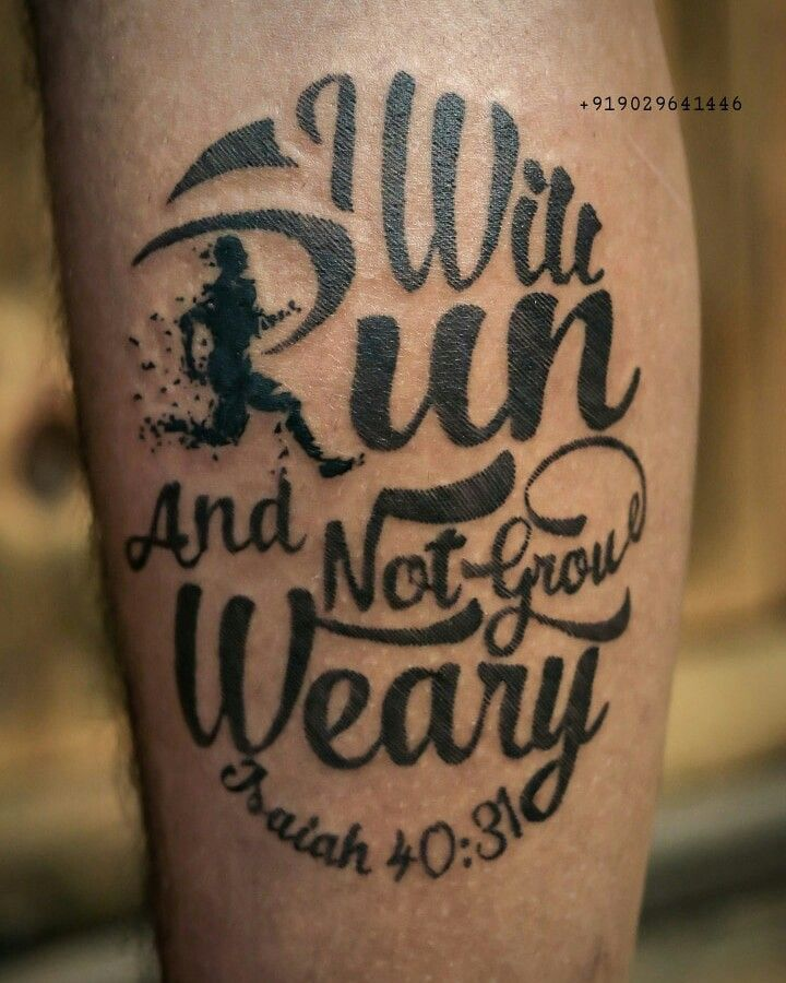 They Will #Run and Not #Grow Weary #marathon #sport #sports #fitness ...