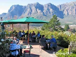 Picture Hillcrest Berry Orchards Restaurant in Stellenbosch, Cape Winelands, Western Cape, South Africa
