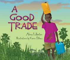 Kato's daily routine of fetching water and doing chores is disrupted when the aid worker's truck arrives in the village square. And in the back is a gift so wonderful the boy knows he has to find some way of showing his gratitude.  A brief, lyrical book full of impact.