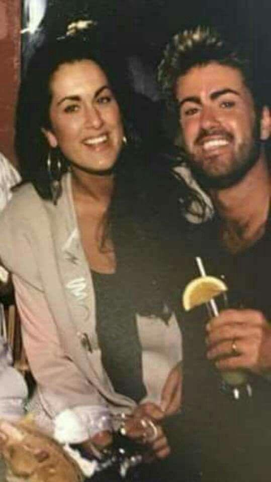 George and his sister Melanie
