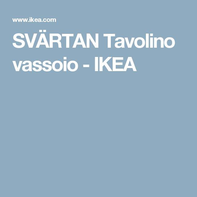 SVÄRTAN Tavolino vassoio - IKEA