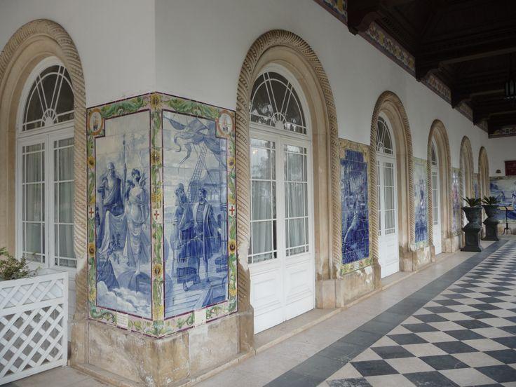 Jorge Colaço | Luso | Palace Hotel do Bussaco | 1904-1906 [© Ana Almeida] #Azulejo #Bussaco #JorgeColaço
