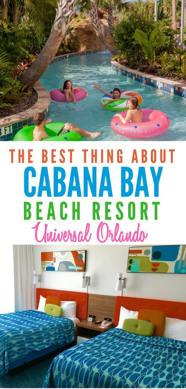 Cabana Bay Beach Resort In Orlando