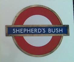 Shepherds Bush underground, London