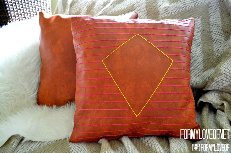 16 Fabulous Leather Tutorials for the Home | DIY Show Off ™ - DIY Decorating and Home Improvement BlogDIY Show Off ™ – DIY Decorating and Home Improvement Blog