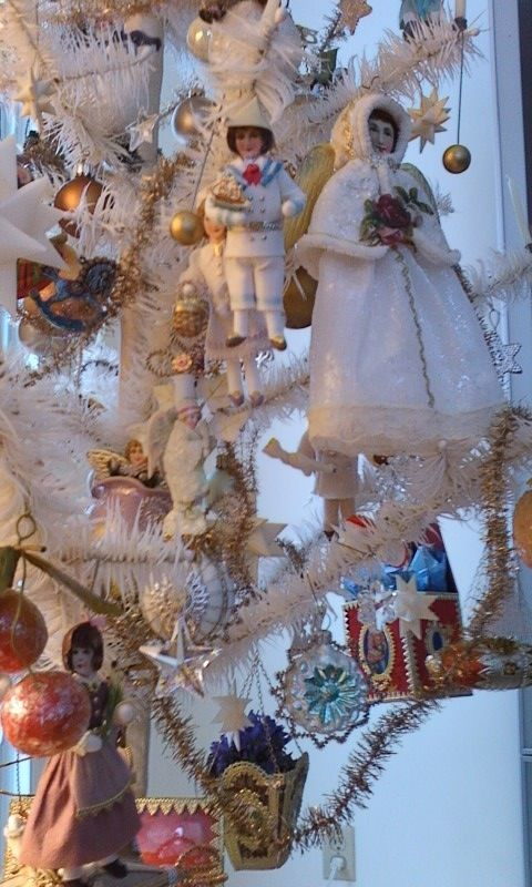 CHRISTMAS: New Cotton batting ornaments
