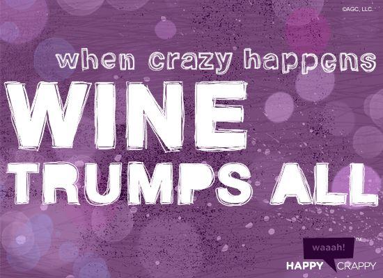 trueWine Humor, Wine Buddy, Wine Trump, Red Wine, Wine Thoughts, Humor Wine, Divination Wine, Things Wine, Crazy Happen