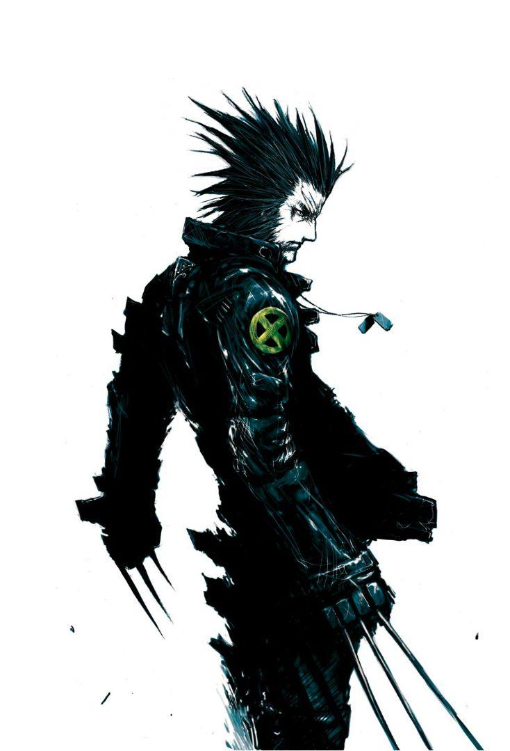 Wolverine - by Tsutomu Nihei | #comics #marvel